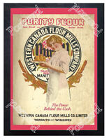 Historic Purity Flour Cook Book 1900 Advertising Postcard