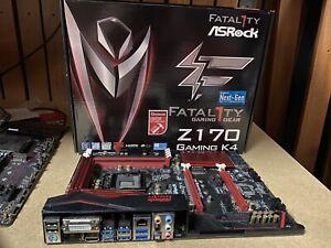 Mainboard ASRock Fatal1ty Z170 Gaming K4 Killer Ethernet