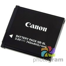 Battery for Canon PowerShot A1200 A2200 A3000 A3100 A3150 A3200 A3300 IS NB-8L