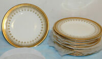 "11 Vintage Cauldon English A. French & Co Boston Bread Plates 8.5"" Excel. Cond."