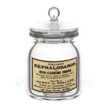 miniatura per casa delle bambole kephalosaron in vetro FARMACISTA