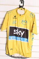 Tour De France Le Coq Sportif Cycling Yellow Jersey - Size 3XL XXXL (DD9)