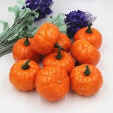 Mini Simulation Small Pumpkin Foam Ornament Halloween Party Garden Decor P3