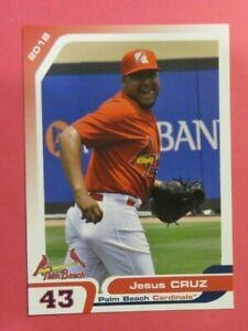 2018 Grandstand, Palm Beach Cardinals - JESUS CRUZ - Mexico