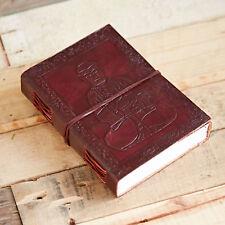Fair Trade Handmade Indra Sitting Buddha Leather Journal 2nd Quality