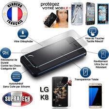 Protection d'Ecran en Verre Trempé Contre les Chocs pour LG K8