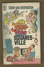 FLIPSVILLE SQUARESVILE softcover CARTOON paperback book by STAN & JAN BERENSTAIN