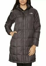 The North Face Metropolis 600 Down Long Quilted Coat Parka Black Size Large