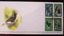 O) 1997 Thailand, Internationa Asian Hornbill Worship, Bird-White Crowned-Rufous