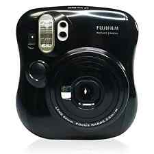 NEW Black Fujifilm Instax Mini 25 Instant Film Polaroid Camera Picture Photo