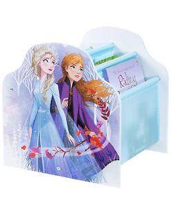Disney Frozen Kids Sling Bookcase Bedroom Furniture Book Storage New Girls Boys.