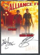 Smallville Season 6 Dual Autograph Gallner/Hartley AJA