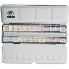 SCHMINCKE Horadam Artists Acquerello 24 Half Pan METAL BOX SET - 74424097
