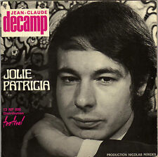JEAN - CLAUDE DECAMP JOLIE PATRICIA FRENCH ORIG EP
