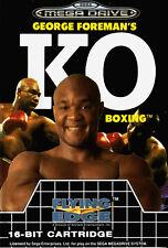 ## SEGA Mega Drive - George Foreman´s KO Boxing / MD Spiel ##