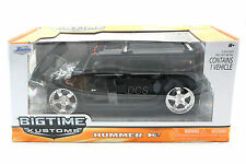 Jada Kustoms Hummer H2 Black 1/24 Diecast  Cars 90403