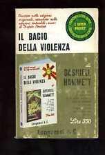 HAMMETT - IL BACIO DELLA VIOLENZA - Longanesi