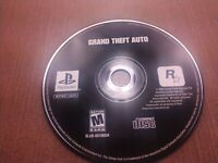 Sony PlayStation 1 PS1 PSOne Disc Only Tested Grand Theft Auto GTA Ships Fast