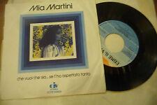 """MIA MARTINI"""" CHE VUOI CHE SIA SE..-disco 45 giri CIV It 1976"""" NUOVO"""