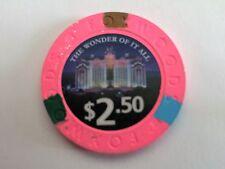 $2.50 Foxwoods Casino Poker Chip 2016