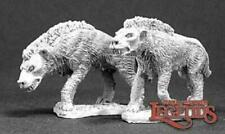 Reaper Miniatures 03277: Hyena Pack (2) - Dark Heaven Legends Metal Mini
