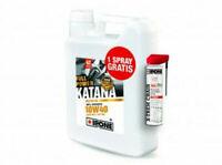 Huile IPONE Katana Full Power 10W40 4 litres + X-Trem Chain moto route 4L NEUF