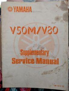 Yamaha V50M / V80 Supplementary Service Manual