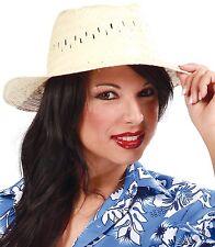 a301d83d97313 MUJER HOMBRE MARINERO de Paja Sombrero Ropa baño Hawaiian Accesorio para  disfraz