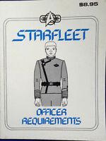 1985 Starfleet Officer Requirements- Star Trek Technical Manual Fan Produced