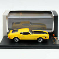 IXO Premium X 1:43 Ford Mustang Mach 1 Yellow 1971 PRD397J Limited Edition