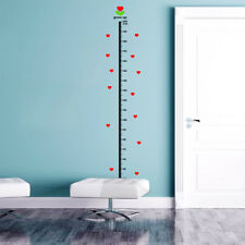 Removable Kids Height Chart Measure Growth Vinyl Decal Wall Sticker Home Decor