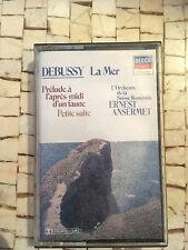 DEBUSSY LA MER  K7 AUDIO