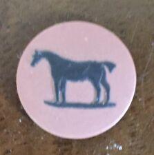Antique Wedgwood Horse Plaque Medallion George Stubbs Rosso Antico Jasperware