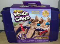 KINETIC SAND, Folding Sand Box with 2 Pounds of Kinetic Sand *AS-IS*