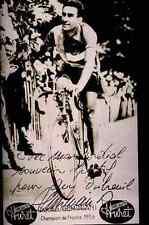 RAPHAEL GEMINIANI 53 Signature PRINTED Autograph cycling REPRO cyclisme ciclismo