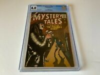 MYSTERY TALES 50 CGC 4.0 MUMMY PYRAMIDS SECRET HORROR ATLAS COMICS 1957