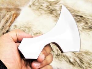 Axt Klingen High Carbon Stahl handverarbeitet Wikinger MAQ2413