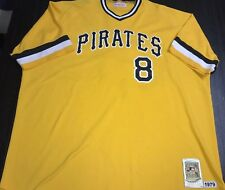 Pittsburgh Pirates Willie Stargell Mitchell & Ness Stitched Gold Jersey Mens