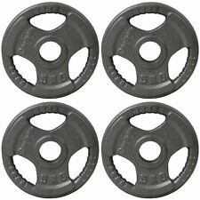 BodyRip TRI GRIP OLYMPIC WEIGHT 4 x 5kg PLATES DISC CAST IRON FITNESS GYM