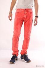 Replay VU1705 V80052A 053  Herren Jeans, Denim, Rot, Trousers