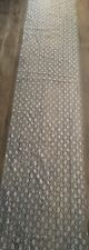 Lace Table Runners X11 - Silver / Grey - Excellent Condition - For wedding