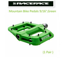 """Race Face Chester Platform Mountain Bike Pedals 9/16"""",Green"""