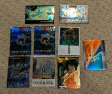 Ghost in the Shell  Chromium Trading Card Lot S-10 S-11 01 02 23