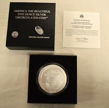 2013 America the Beautiful 5 oz. Maryland Coin with Box and COA