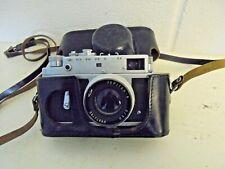 (1) Vintage Zorki 4 Rangefinder Camera Jupiter 8 2/50 Lens Made in the USSR