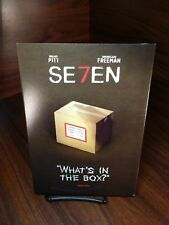 Seven(DVD)Warner Bros Special Iconic Moments Collector Slipcover-NEW-Free S&H