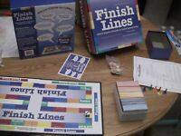 Finish Lines Complete Game 1999 Edition Players Compete To Finish Famous lines