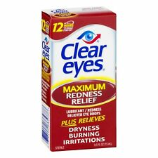 Clear Eyes Maximum Redness Relief Eye Drops 15ml 0.5fl oz
