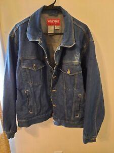 Vintage Wrangler Hero Denim Jacket Men's Size XL