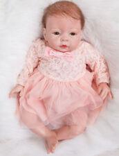 Realistic Reborn Baby Dolls Handmade Lifelike Vinyl Newborn Girl Doll 22 in.55cm